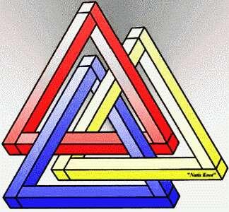 Зрительные (оптические) иллюзии / Невозможные фигуры