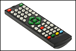 Remote controls for TV sets and monoblocks