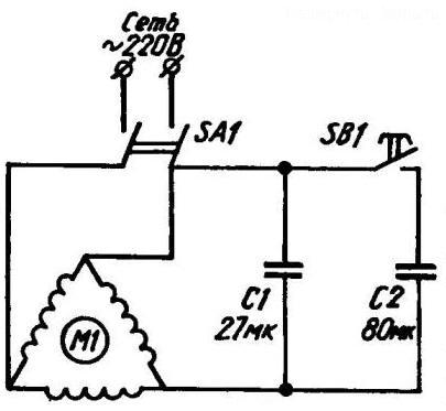 Бытовой компрессор схема
