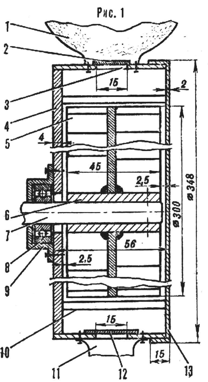 Чертеж ручная мельница для зерна своими руками чертежи