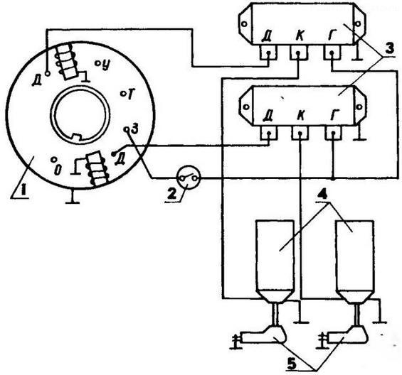 Монтажная электрическая схема