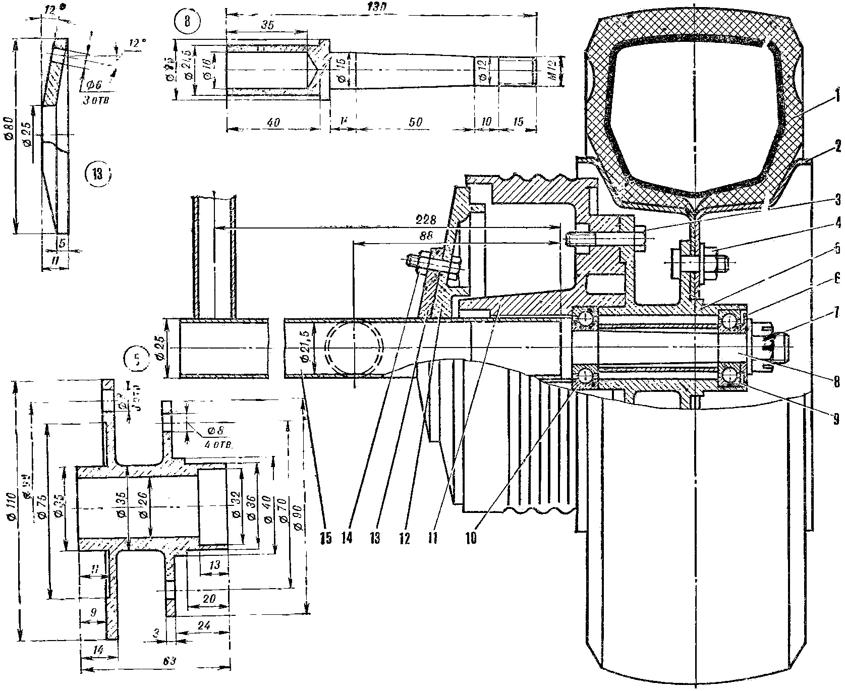 схема тормозной системы фредлайнер