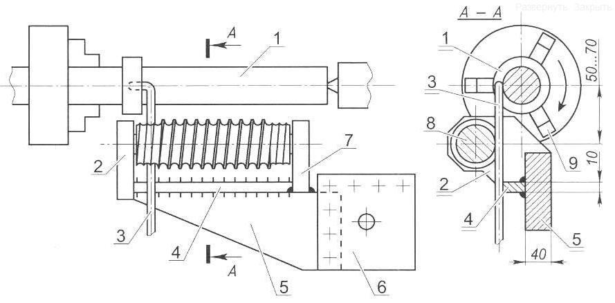 Как сделать пружину своими руками