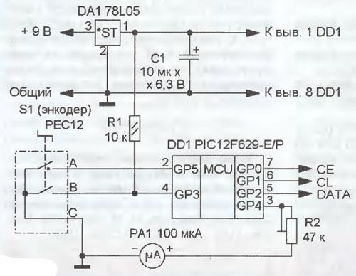 с синтезатором частоты на