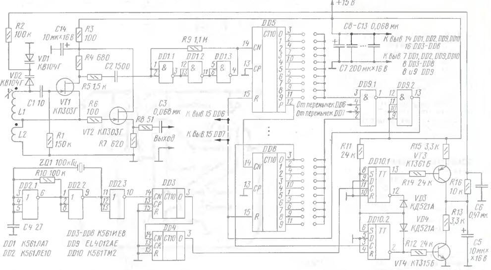 Простой синтезатор частот