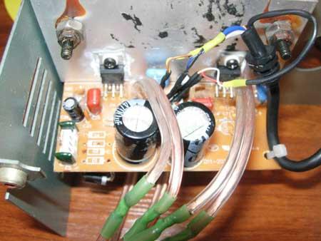 Доработка Microlab B-72.