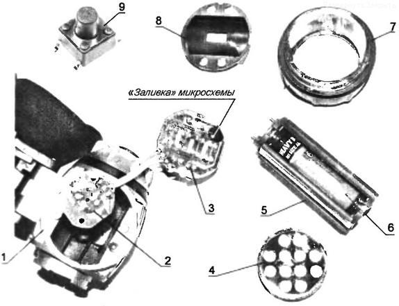 Светодиодный фонарик и его