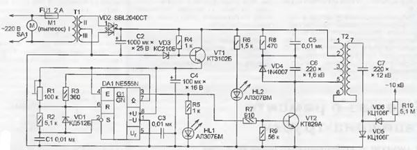 Электростатический фильтр в