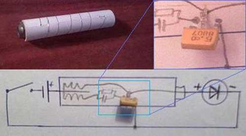 Как сделать из 6 батареек одну батарейку