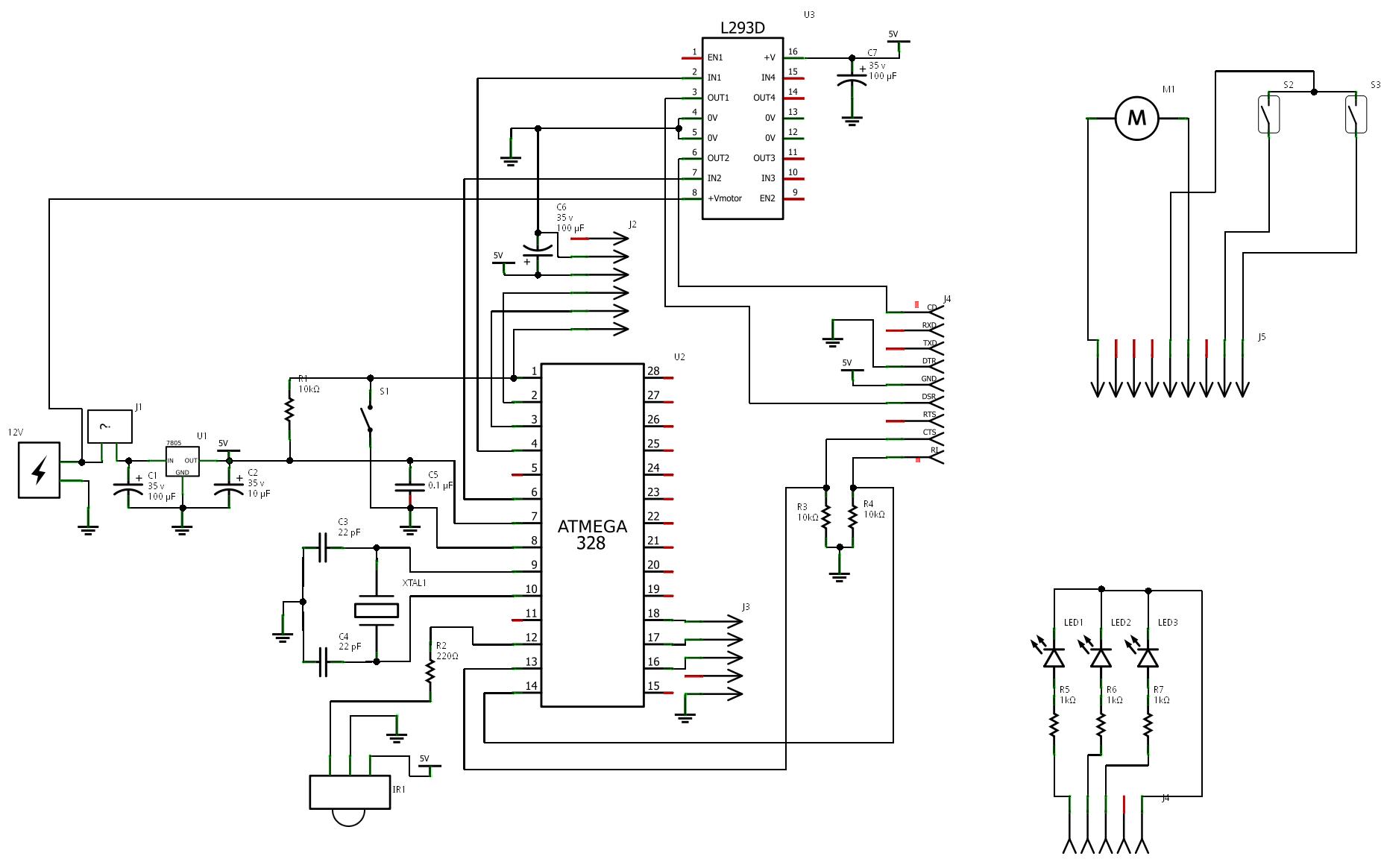 Схемы на atmega328