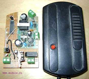 Управление освещением с любого пульта ДУ. Блок управления освещением