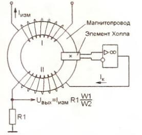 Градиентометрическая схема включения обмоток феррозонда используется 147