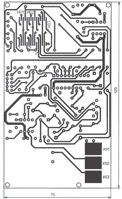Микроконтроллерный измеритель емкости конденсаторов.