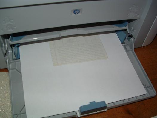 Как сделать из бумаги принтер 230