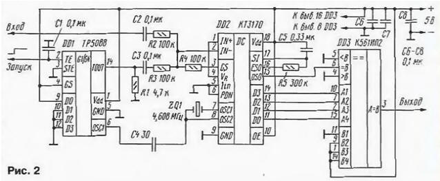 Узкополосный фильтр-детектор