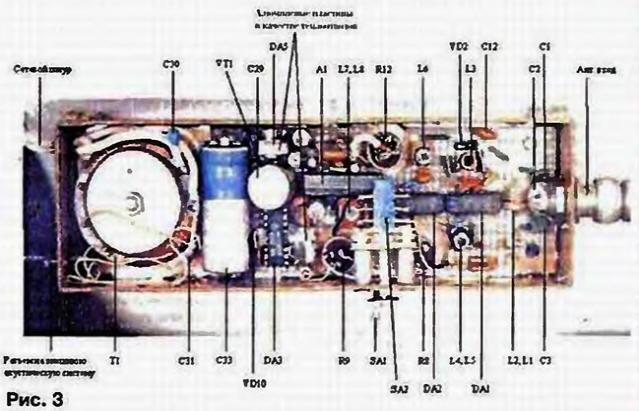 Радиовещательный УКВ приемник с двойным преобразованием частоты.
