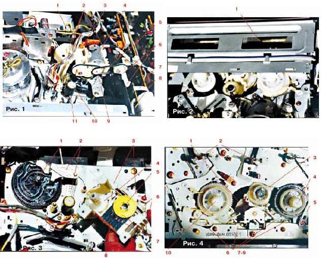Ремонт видеомагнитофонов и видеоплейеров. ЛМП в аппаратах ...: http://www.diagram.com.ua/list/video/video34.shtml