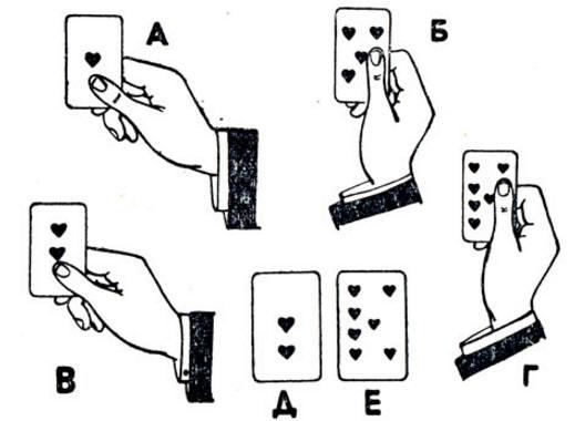все фокусы с картами обучение с картинками самого руки