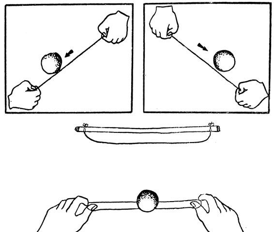 фокусы с шариком выходящим изо рта и их секреты